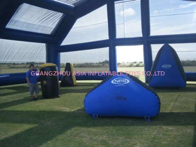 Water Proof Inflatable Paintball Arena ARENA07 with Durable Anchor Rings ผู้ผลิต