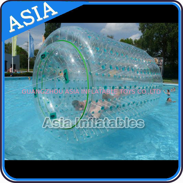 Inflatable Aqua Roller Games For Outdoor Summer Water Entertainment ผู้ผลิต