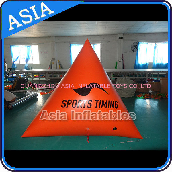Inflatable Promoting Buoy , Inflatable Swim Buoys For Ocean Or Lake ผู้ผลิต