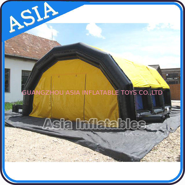 Large Inflatable Tent with Canopy, Inflatable Camping Tent For Family ผู้ผลิต